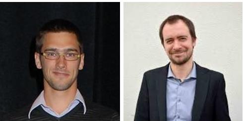 Benjamin Dumont, University of Liege, and Bertrand Vandoorne, Yncrea Hauts-de-France, Team 3 leaders