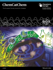 BioEcoAgro makes the cover of the first 2021 issue of ChemCatChem