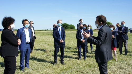 Creation of a Cross-border Research Unit for sustainable agriculture