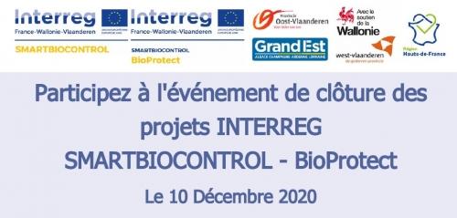 10 Décembre 2020 : clôture des projets SMARTBIOCONTROL - BioProtect